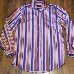 {Etro} Men's Fine Italian Dress Shirt